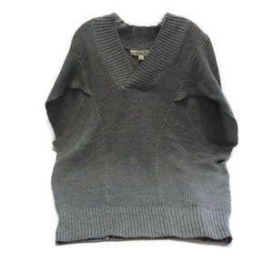 California Gypsy Oversized Cap Sleeve Sweater M